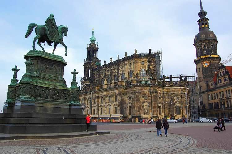 Изучаем Дрезден самостоятельно — достопримечательности ...