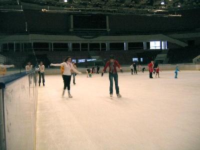 Катание на коньках в СК