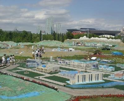 Карта Казахстана Атамекен
