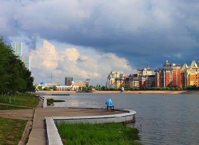 Набережная реки Есиль