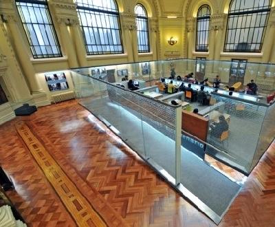 Национальная библиотека и мавзолей Бернардо О'Хиггинса