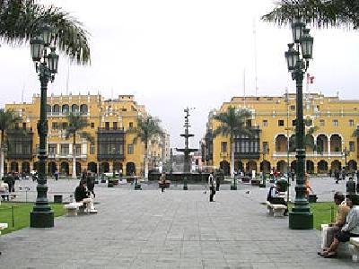 Площадь Плаза де Армас