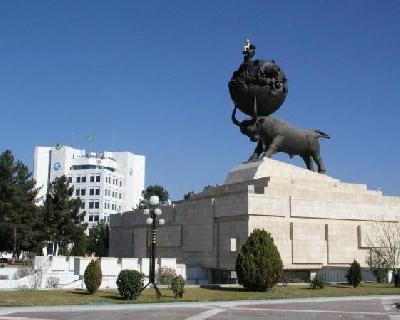 Монумент памяти жертв ашхабадского землетрясения 1948 года