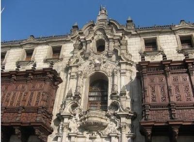 Дворец архиепископа Лима