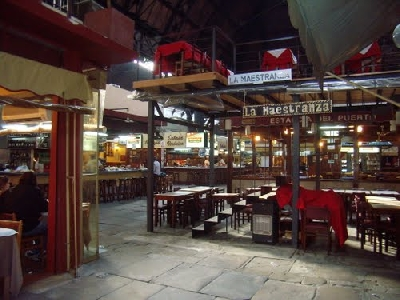 Портовый рынок Меркадо дель-Пуэрто