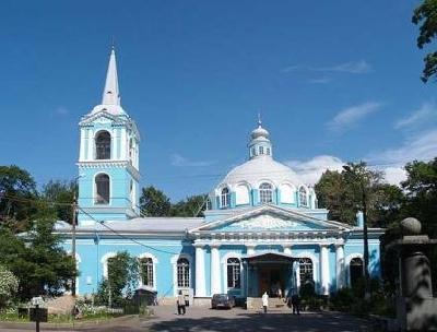 Smolenskoe Cemetery and Smolenskaya Church