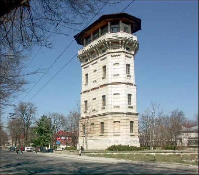 Водонапорная башня в Кишиневе