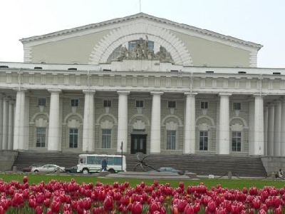 Old Saint-Petersburg Stock Exchange building