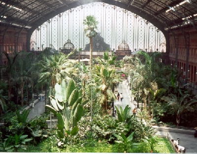 Вокзал с пальмовым садом Atocha