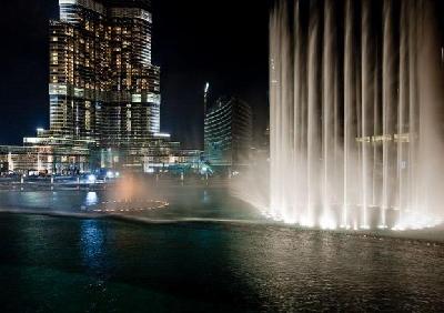 Фонтаны Дубая