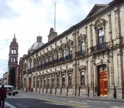 Дворец правительства штата Мичоакан