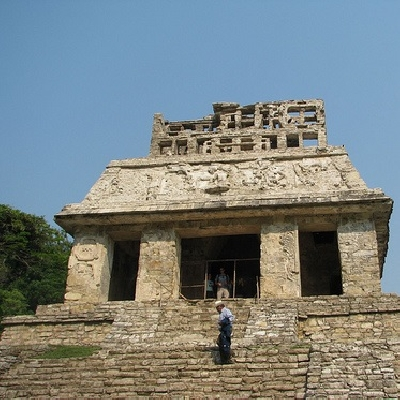 Храм Солнца Паленке