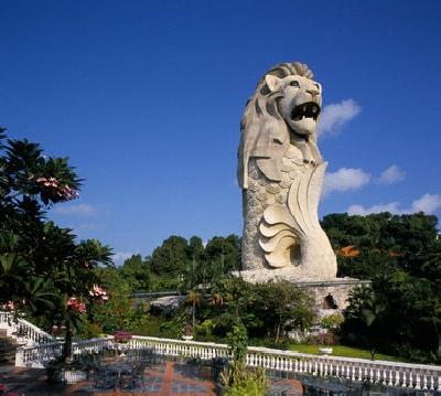 Статуя Мерлион