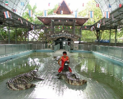 Парк «Миллионолетних камней» и крокодиловая ферма