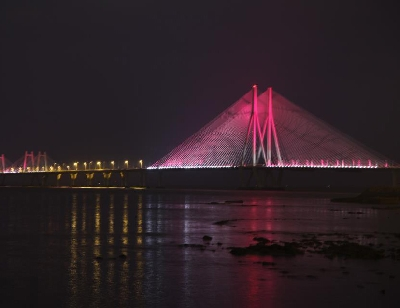 Морской мост Бандра-Ворли