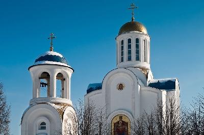 Церковь Успения Пресвятой Богородицы на Малой Охте