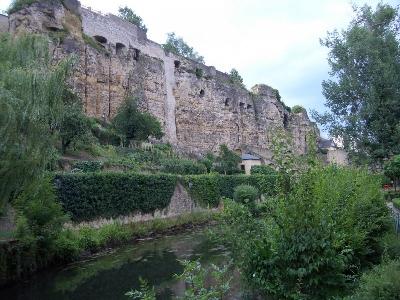 Замок Люксембургских графов