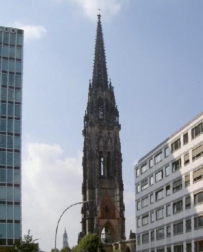 Руины церкви Святого Николая