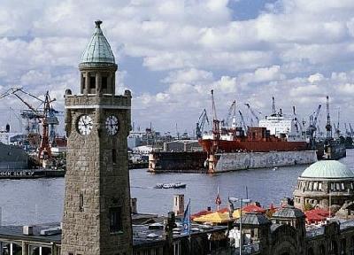 Порт Гамбурга