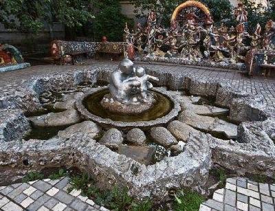 Мозаичный дворик на Фонтанке