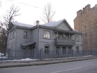 Музей петербургского авангарда, Дом М.В. Матюшина