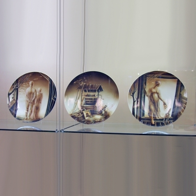 Галерея современного искусства фарфора