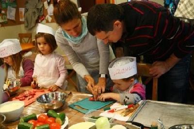 Мастер-класс по кулинарии для детей в Лавке и Кафе Артемия Лебедева