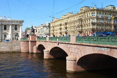Аничков мост и Дворец Белосельских-Белозерских