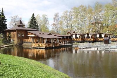 Русская рыбалка, ресторан