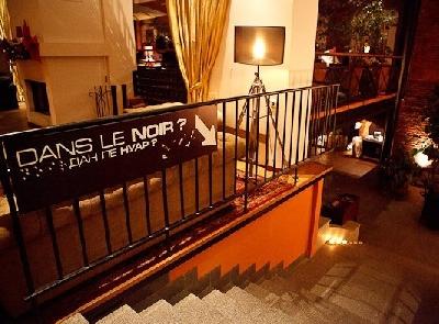 Dans Le Noir?, ресторан