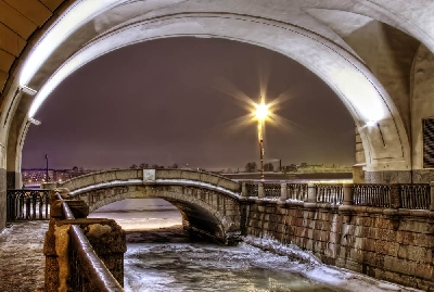 Зимняя канавка