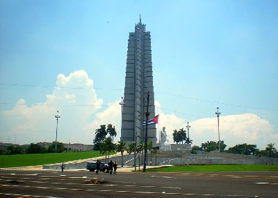 Площадь Революции и мемориальный комплекс имени Хосе Марти