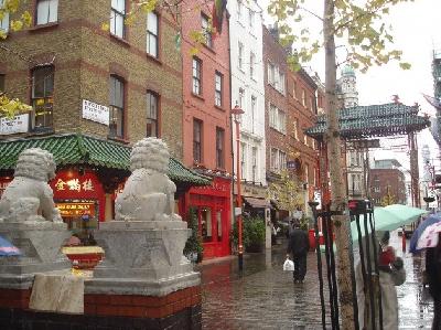 Лондонский чайнатаун