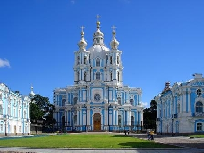 Bell Tower of the Smolny Cathedral