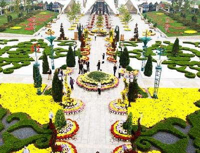 Пекинский сад цветов мира