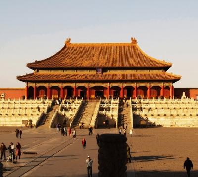 Площадь Тяньаньмэн и мавзолей Мао Цзедуна