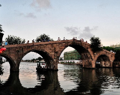 Город на воде Чжуцзяцзяо