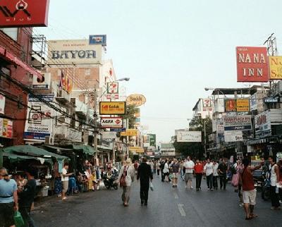 Улица Каосан