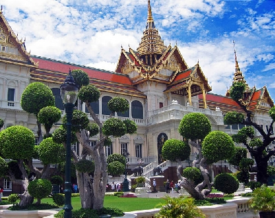 Королевский дворец и Храм Изумрудного Будды