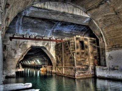 Сверхсекретный завод по ремонту подводных лодок