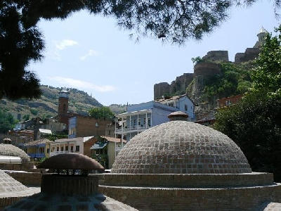 Тбилисские серные бани