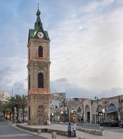 Площадь часовой башни