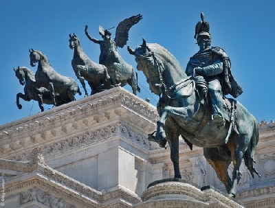 Площадь Венеции и Памятник Виктору Эммануилу II